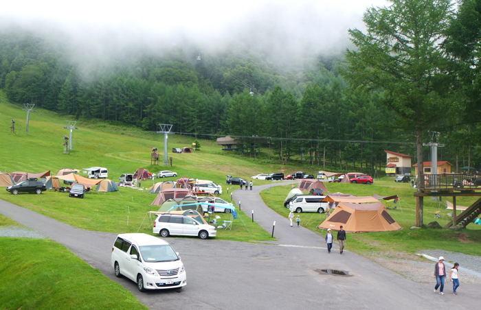 丸沼 高原 オート キャンプ 場